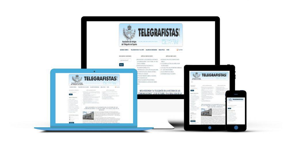 Mockup Web telegrafistas